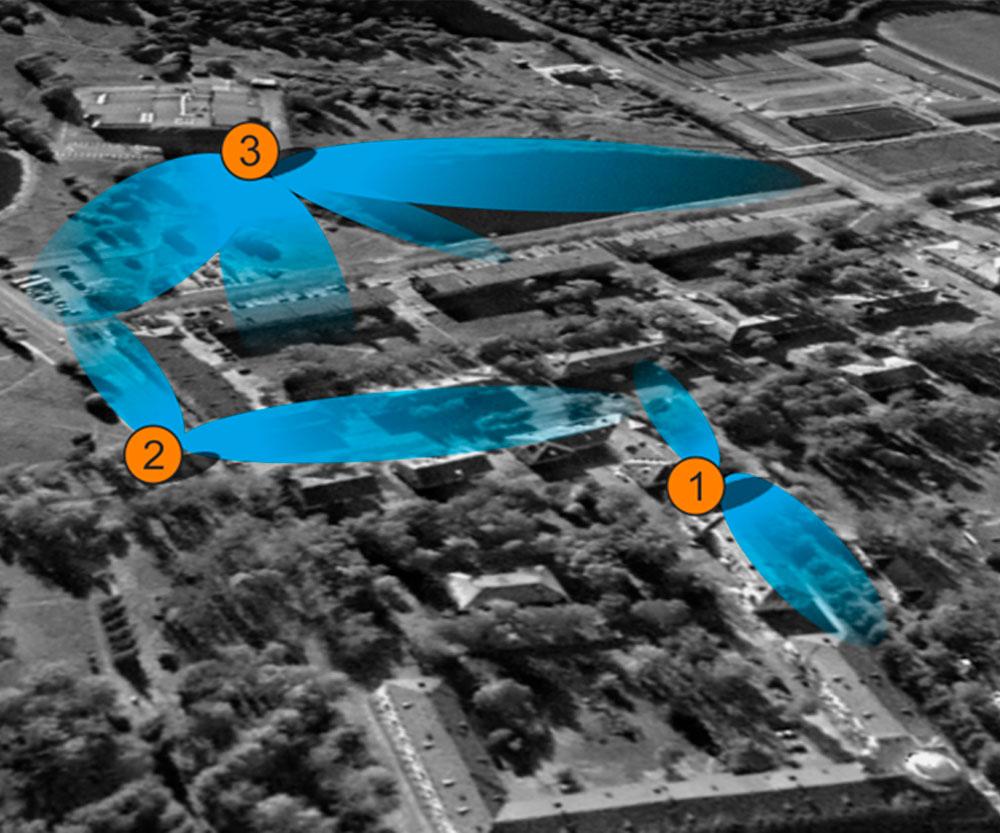 Карта покрытия системами